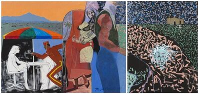 Maurice Burns, 'Galisteo Fantasy (diptych)', 1989-1993
