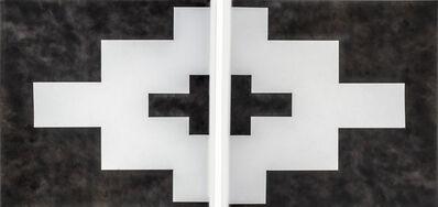 Sabino Guisu, 'Geometría Arqueológica Díptico (Mitla)', 2019