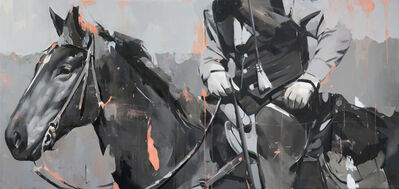 Alpay Efe, 'Rider', 2018