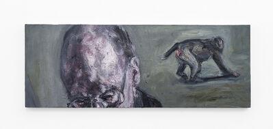 Johann Louw, 'Gebride man, en aap ', 2020