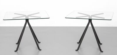 Enzo Mari, 'Two small tables 'Cuginetto' for DRIADE', 1976
