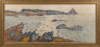 François Victor Valtat, 'Paysage de bord de mer aux rochers bleus', ca. 19