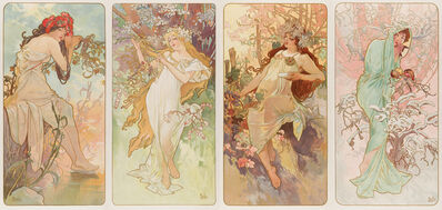 Alphonse Mucha, 'The Seasons', 1896