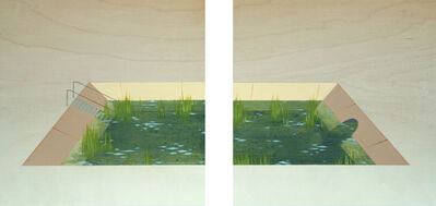 Chris Ballantyne, 'Pond (diptych)', 2014