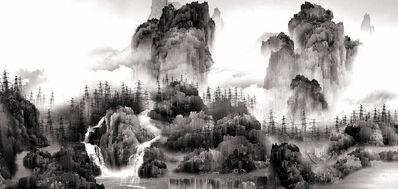 Yang Yongliang 杨泳梁, 'View of Tide 蜃市山水', 2008