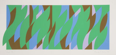 Bridget Riley, 'Leap', 2008