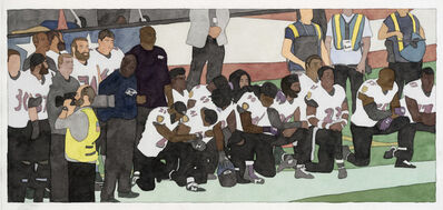 Kota Ezawa, 'National Anthem (Baltimore Ravens)', 2019