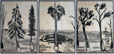 K'cho, 'Untitled (Triptych)', 2019