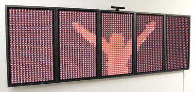 Rafael Lozano-Hemmer, 'Make Out, Plasma Version', 2009