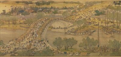 Zhang Zeduan, 'Spring Festival on the River (also called Along the River During Qingming Festival), copy of 12th century original by Zhang Zeduan', 18th century copy after 12th century original