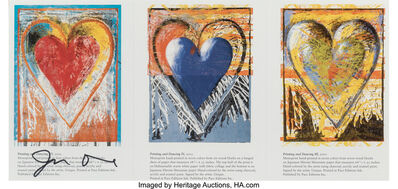 After Jim Dine, 'Untitled (Gallery Invitation)', circa 2002