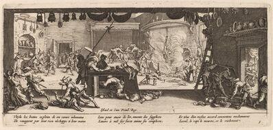 Gerrit van Schagen after Jacques Callot, 'Plundering a Large Farmhouse'