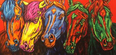 Carol Kelley, 'Painted Ponies', 2018