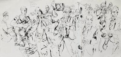 Jonathan Glass, 'Ron Carter Big Band at Jazz Standard', 2013