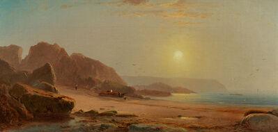 William Hart, 'Coastal Scene with Figures'