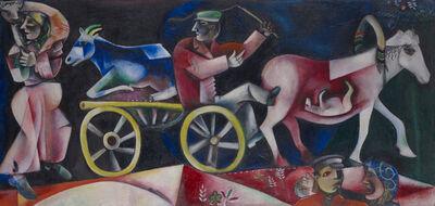 Marc Chagall, 'Le marchand de bestiaux', 1912