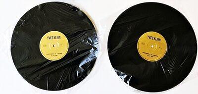 Yves Klein, 'La Conférence à la Sorbonne, 3 Juin, 1959 (LP Records Only)',  1959-1963