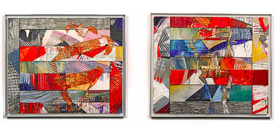 Sam Gilliam, 'Rich Double (1 and 2)', 1993
