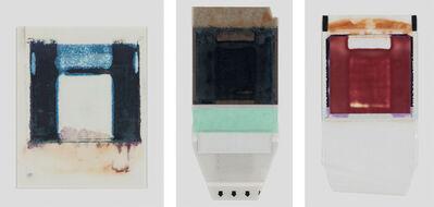 Joachim Schulz, 'Her Heart Belongs to Rothko, Tripticon 3, Polaroid, Polaroid Back, and Polaroid Transfer', 1997