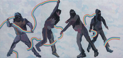 Wu Shanzhuan, 'People Throwing Out the Rainbows 《正在投出彩虹的人》', 2015