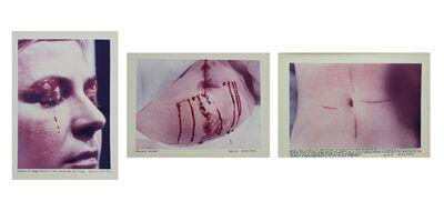 Gina Pane, 'Action Psychè (Essai)', 1974
