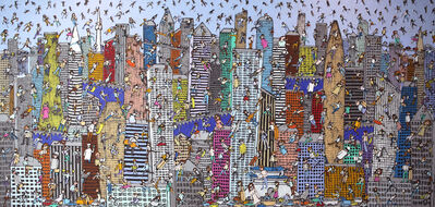 Heungwoo Shin, 'Festival of the city', 2016