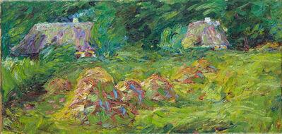 Emil Nolde, 'Heuschober am Walde', 1908