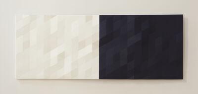 Rupert Deese, 'Merced River / 2 (blue & white)'