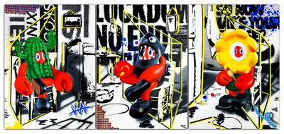 Philip Colbert, 'Lockdown Triptych ', 2020