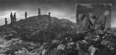 Nick Brandt, ''Wasteland with Cheetahs & Children' Kenya', 2015