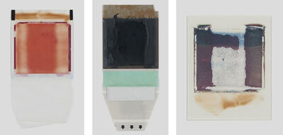 Joachim Schulz, 'Her Heart Belongs to Rothko, Tripticon 1, Polaroid, Polaroid Back, and Polaroid Transfer', 1997