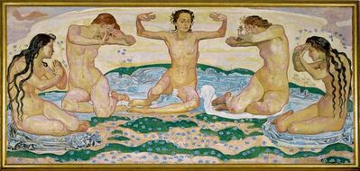 Ferdinand Hodler, 'Der Tag (The Day)', 1899-1900