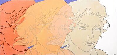 Hilary Bond, 'Sunset Orange, Apricot, Cream', 2015