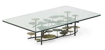 Silas Seandel, 'Lily Pads coffee table', 1973