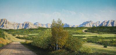 W.H. Webb, 'Dropping Down to Yarow Creek'