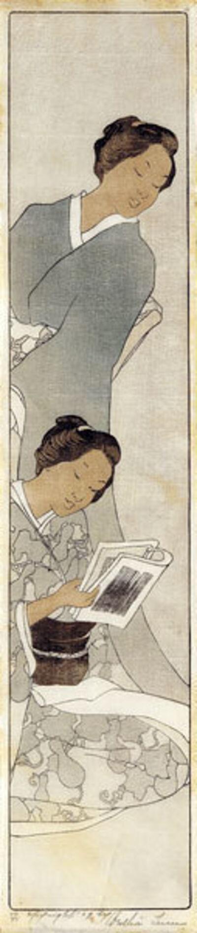 Bertha Lum, 'Sisters', ca. 1907