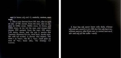 Joseph Kosuth, 'Titled (Art as Idea as Idea) (east)', 1968