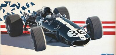 Robert Rector, ' Second Indy Car, Dan Gurney #36 '