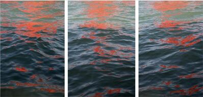 Melissa McGill (b. 1969), 'Riflessi (Red Regatta - 1 September 2019)', 2019