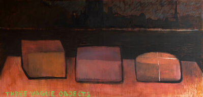 Svilen Stefanov, 'Three Vague Objects', 2018