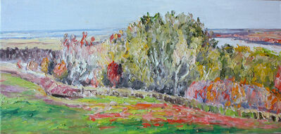 Dorothy Knowles, 'River Valley in Autumn', 2002