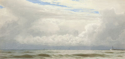 William Trost Richards, 'Clearing Skies / Seascape', n.d.