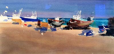 Ian Potts, 'Fishing boats'