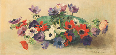 Frans Oerder, 'Still Life with Bowl of Anemones'