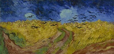 Vincent van Gogh, 'Wheatfield with Crows', 1890
