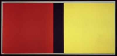 Barnett Newman, 'Who's Afraid of Red, Yellow, and Blue IV', 1969-1970