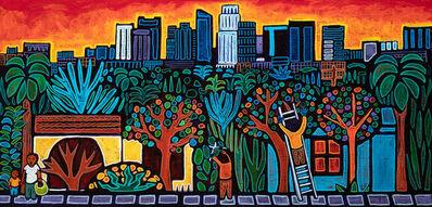 José Ramirez, 'Jardineros en Los Angeles', 2021