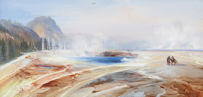 Thomas Moran, 'Big Springs in Yellowstone Park ', 1872