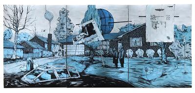 William Buchina, 'Scenery in Blue #5', 2020