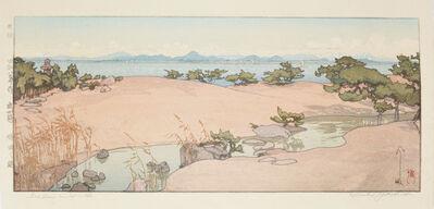 Yoshida Hiroshi, 'A Garden by Biwa Lake', 1933